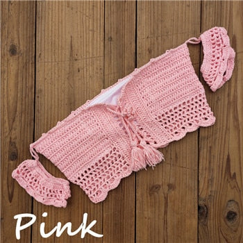 Hand Crochet  Cover Up