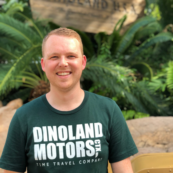 Dinoland Motors Tee - Charming Rose Supply Co.