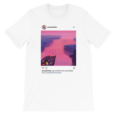 Pocahontas Insta Tee - Charming Rose Supply Co.