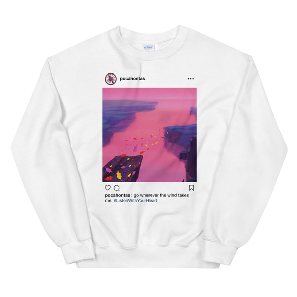 Pocahontas Insta Sweatshirt - Charming Rose Supply Co.