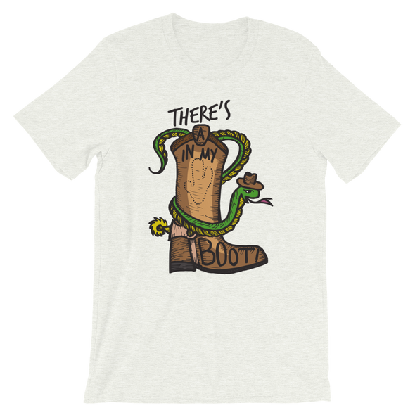 There's A Snake In My Boot Tee - Charming Rose Supply Co.