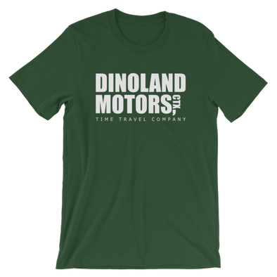 Dinoland Motors Tee (Size M) - Charming Rose Supply Co.
