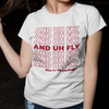 Uh Fly Tee - Charming Rose Supply Co.