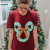 Mickey Wreath Tee - Charming Rose Supply Co.