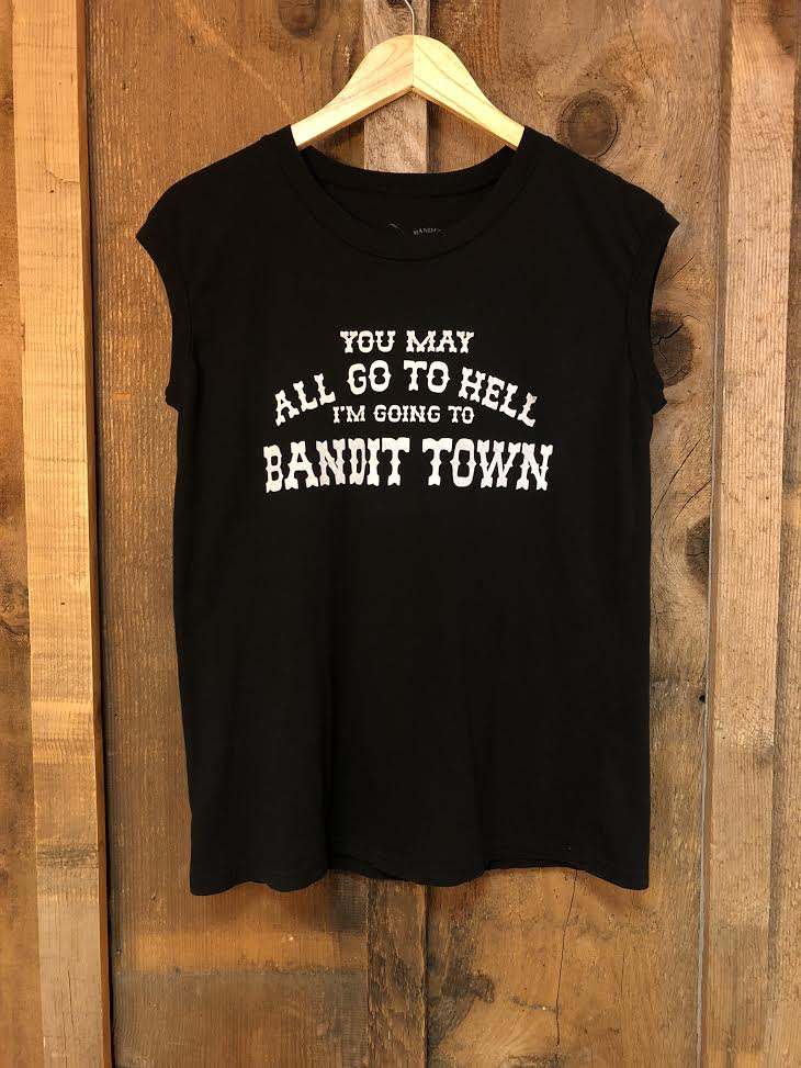 You May All Go To Hell Tour Muscle Blk/White