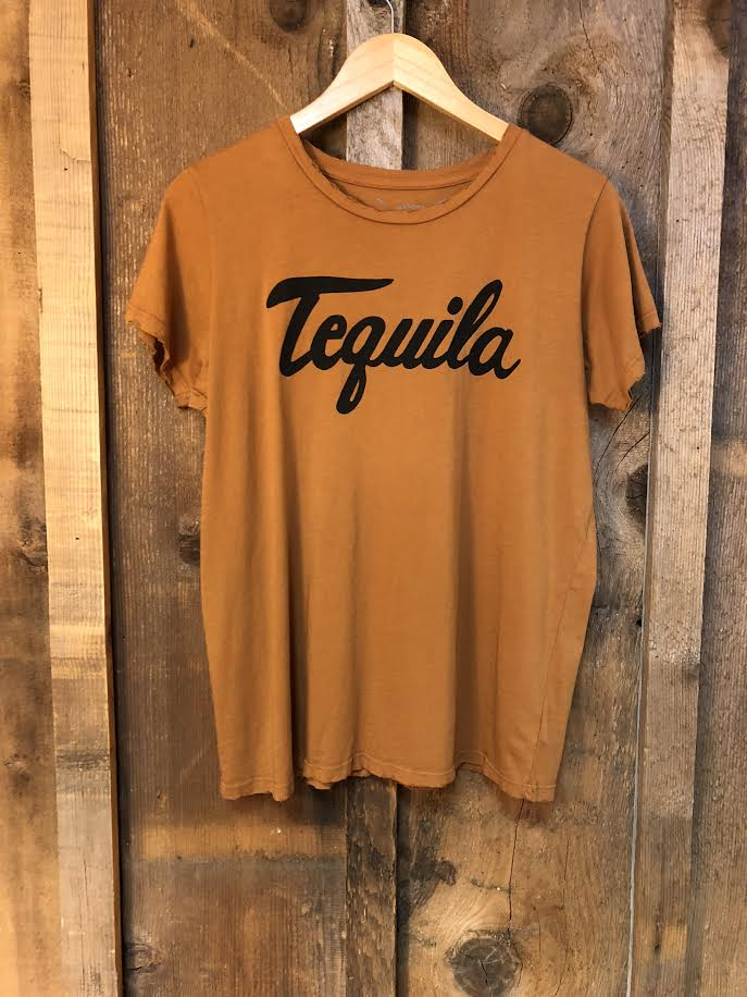Tequila Women's Color Tee Cognac/Black