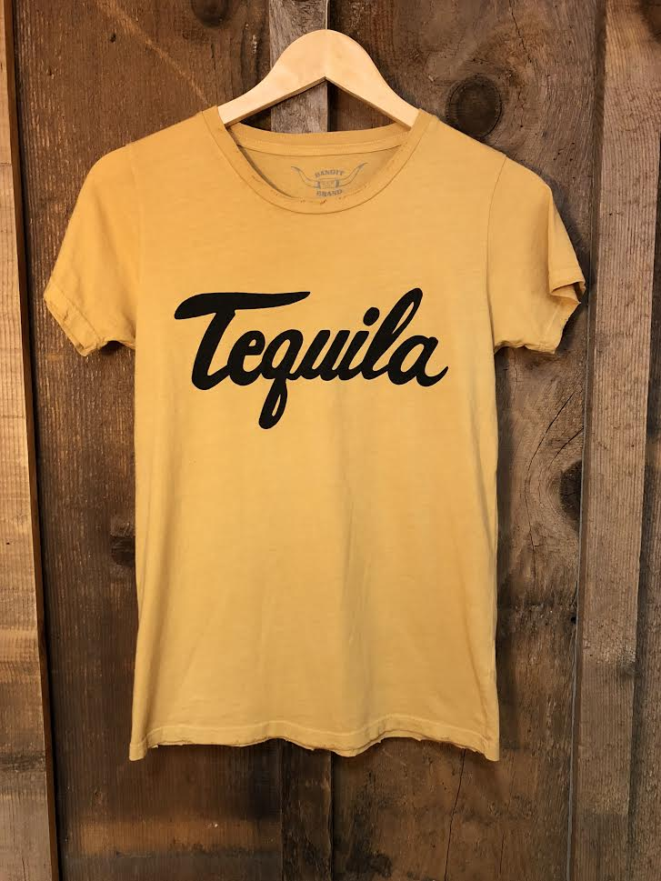 Tequila Women's Color Tee Gold Dust/Black