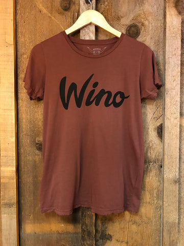 Wino Women's Color Tee Rust/ Black