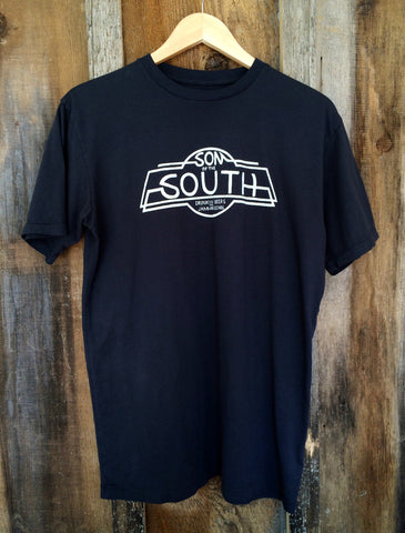 Son Of The South Mens Tee Blk/White