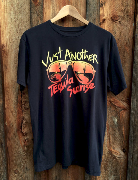 Tequila Sunrise Mens Tee Blk/Multi