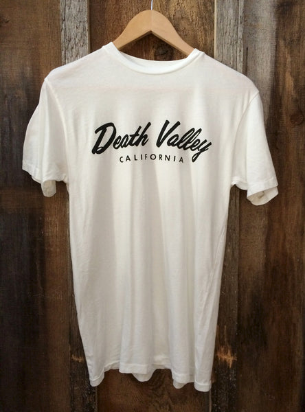 Death Valley Mens Tee Wht/Blk