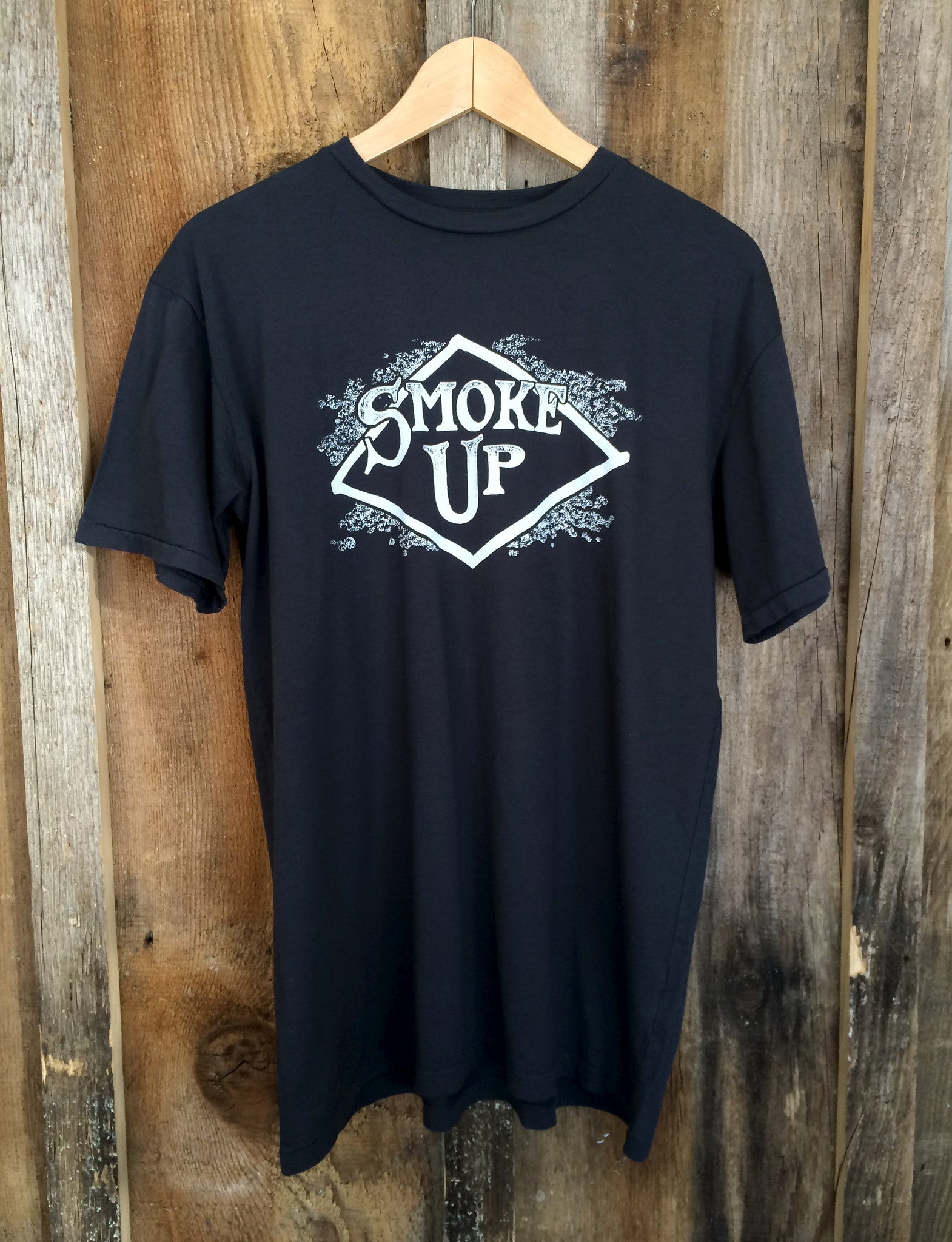 Smoke Up Mens Tee Blk/White