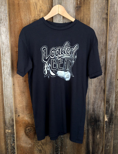 Loaded For Bear Mens Tee Blk/White