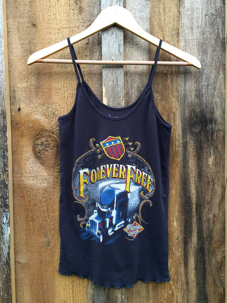 Forever Free Sissy Tank Blk/Color