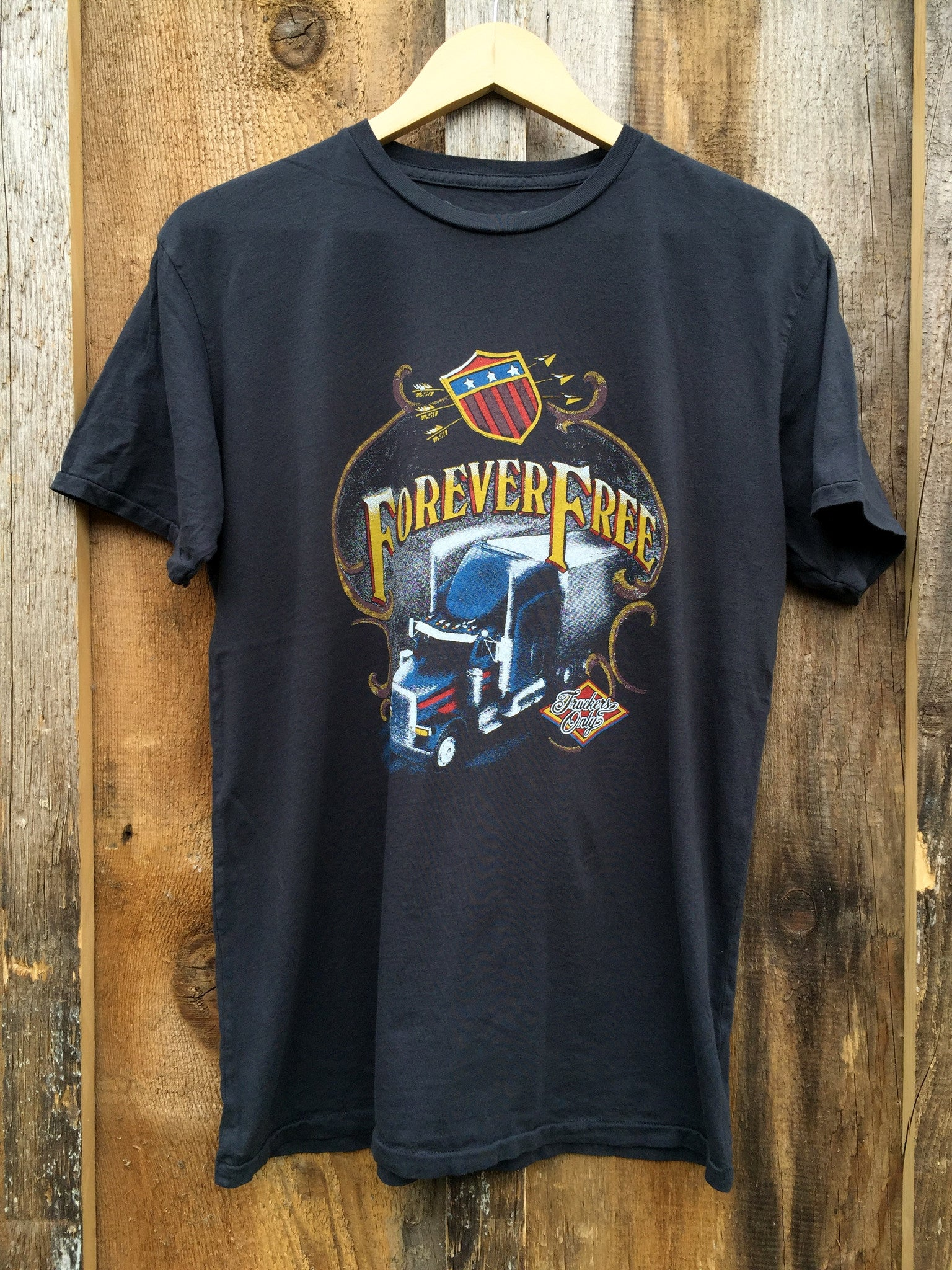 Forever Free Mens Tee Blk/Color
