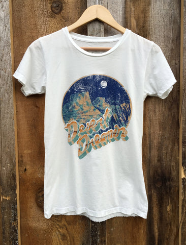 Desert Dreamin Womens Tee White/Color click for more information