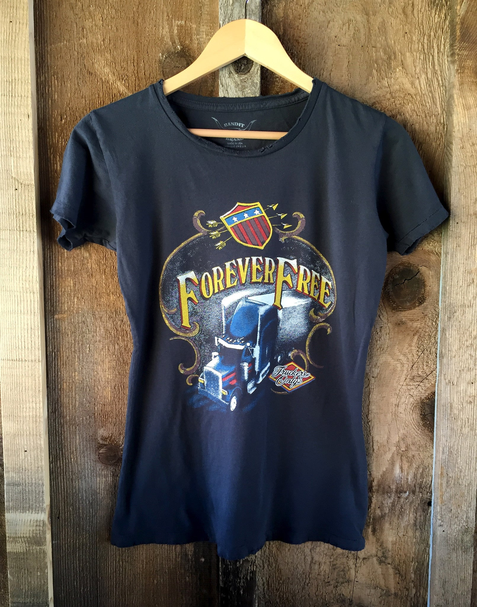 Forever Free Womens Tee Blk/Color