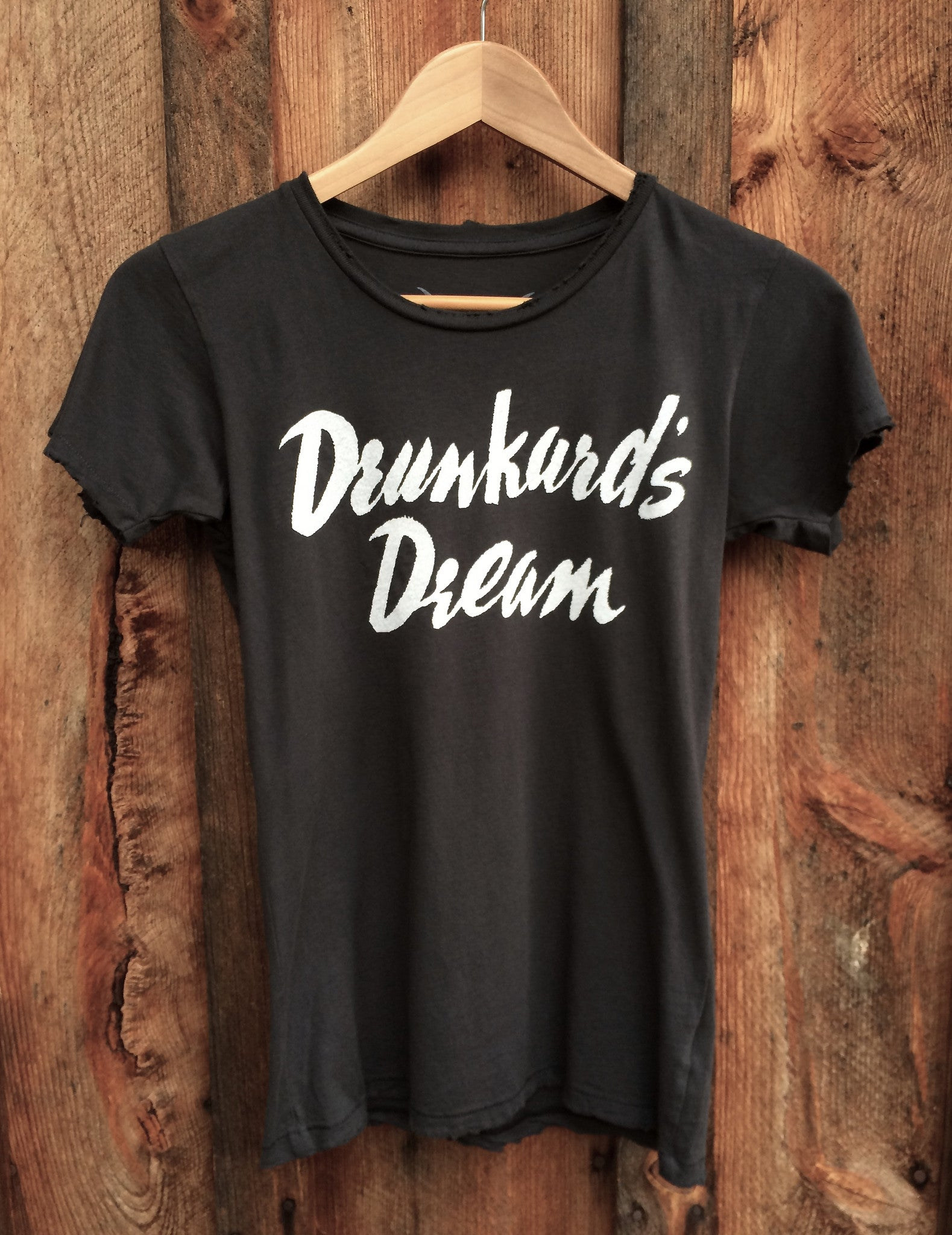 Drunkards Dream Womens Tee Blk/Wht