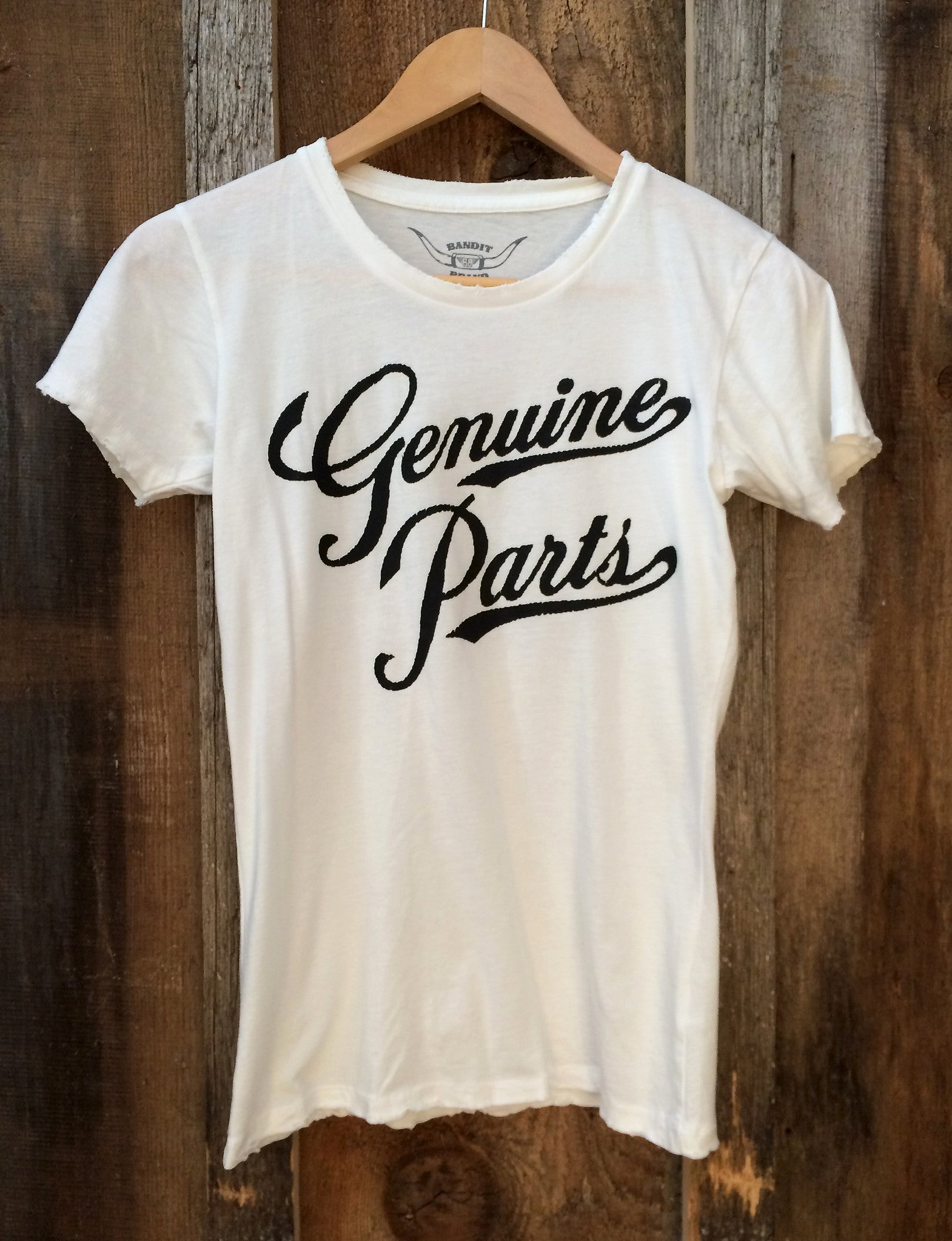 Genuine Parts Women's Tee White/Black