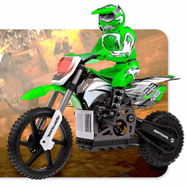 New 1/4 Scale MX400 Remote Control 2.4Ghz Electric RTR Brushless Off Road Motorcycle