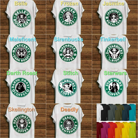 Short Sleeve Coffee T-Shirts
