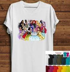 Short Sleeve 12 Princess T-Shirts