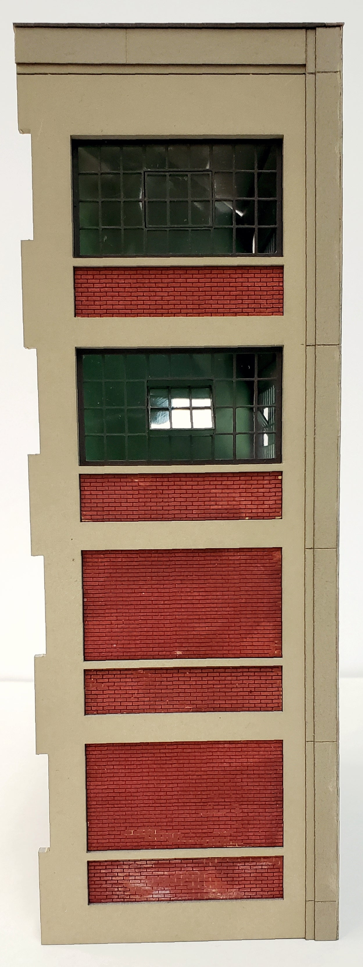 HO4052 Industrial Wall Module - 2 Windows / 2 Brick Panels - ITLA