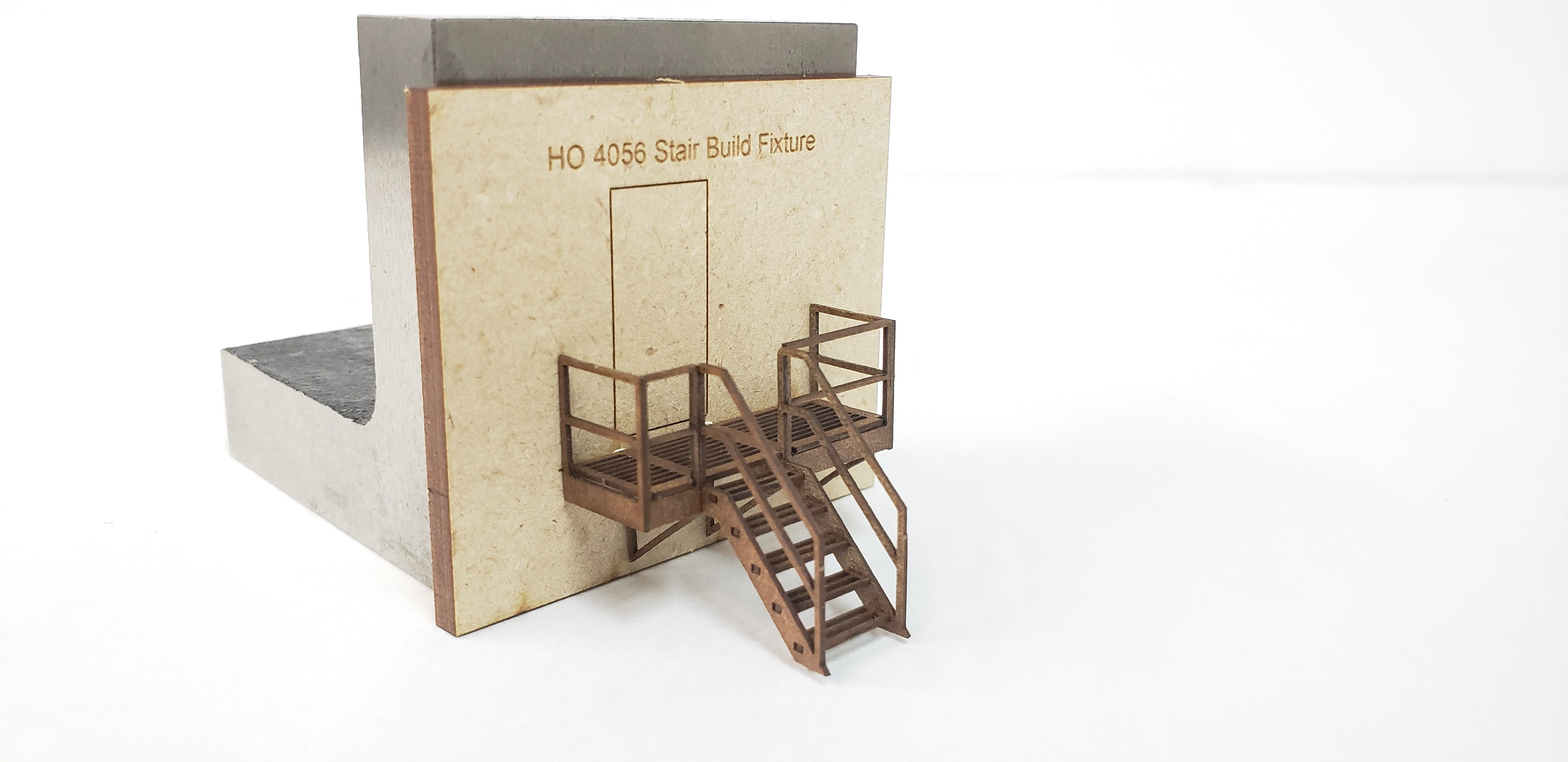 HO4056 Industrial Wall Module - Emergency Exits WITH Fire Escapes & Ground Entry Steps - ITLA