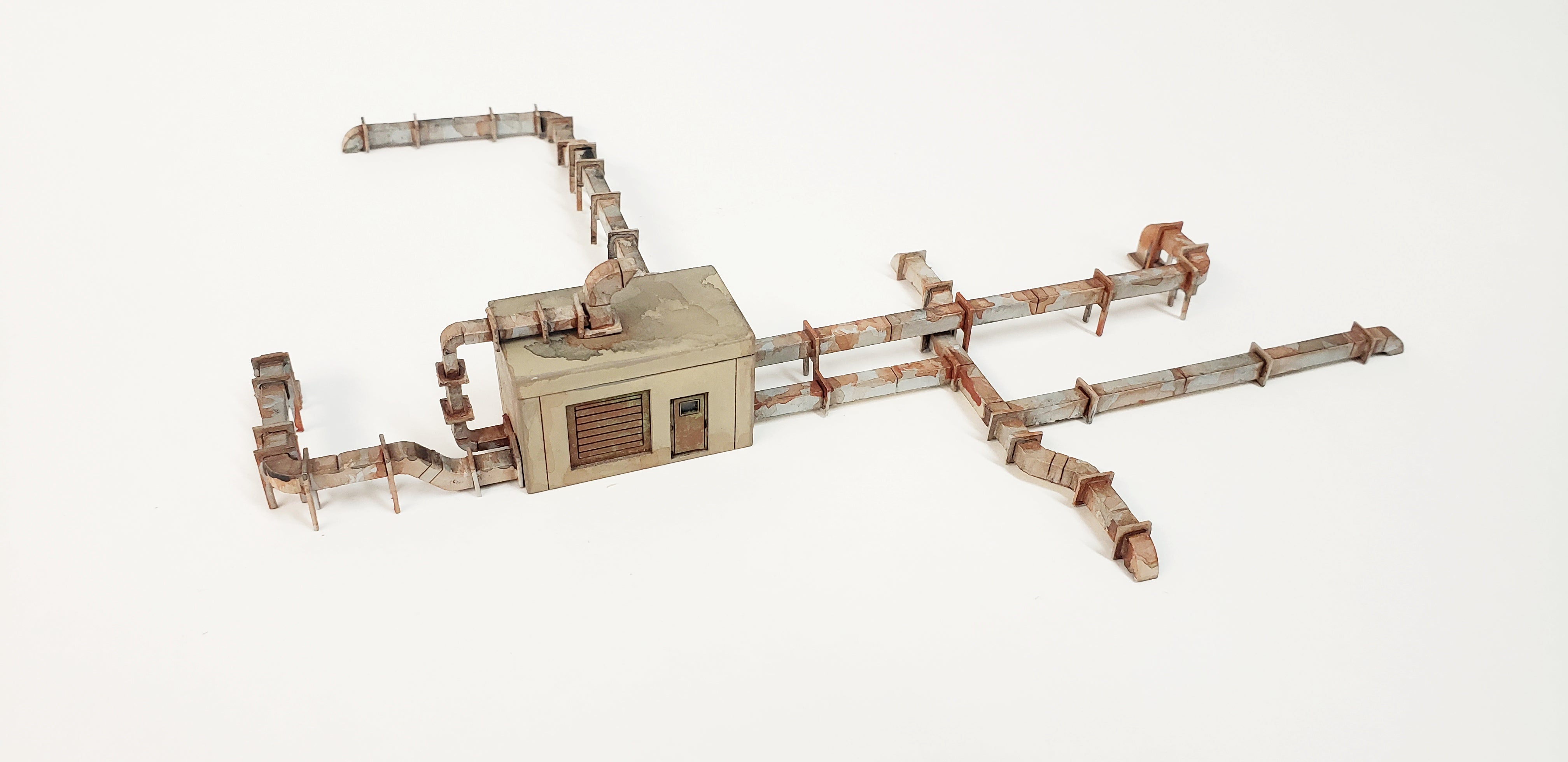 N Scale - Roof Top HVAC Kit - ITLA
