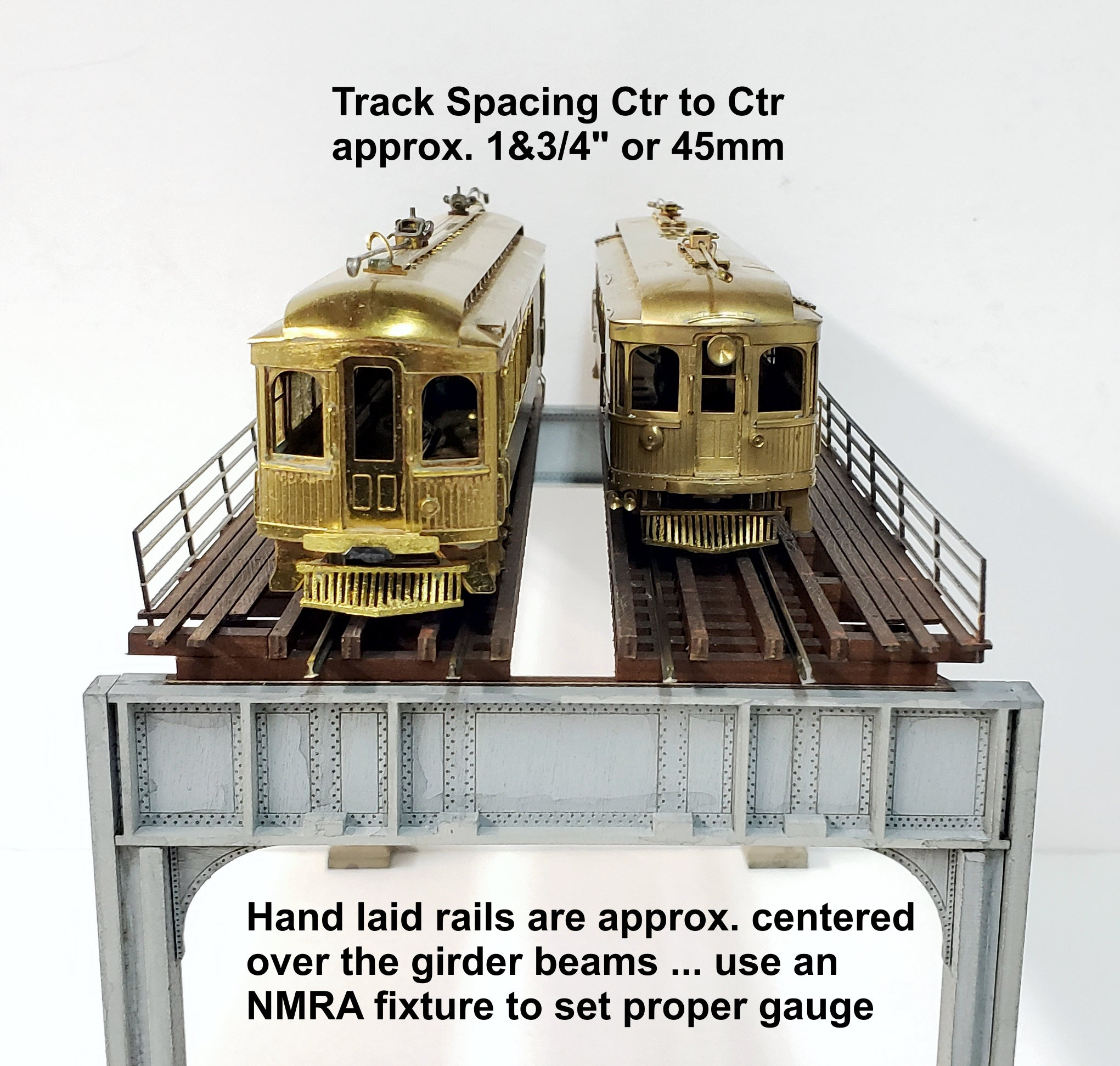 "HO ""New York"" style - 2 Track Elevated ""Starter"" Kit - ITLA"