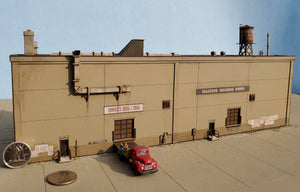 "N Scale ""Allstate Machine"" Kit - Background Versions - ITLA"