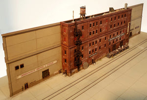 "N Scale ""Allstate Machine"" Kit - Background Versions WITH 4th & 5th Floor Extension module - ITLA"