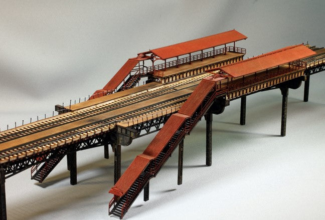 "HO/N - 7 Piece Elevated Railway ""Superkit"" - ITLA"