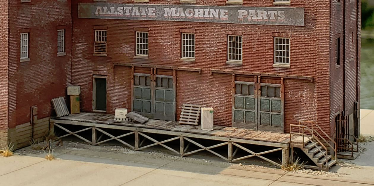 N Scale Loading Dock - ITLA