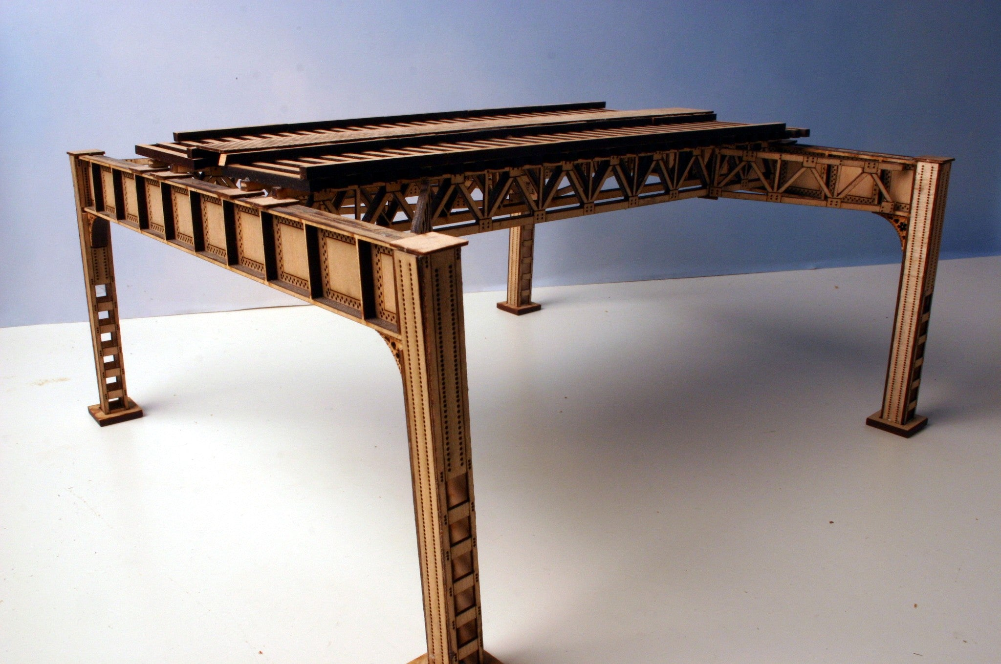 "HO Chicago ""Lake Street"" Elevated Railway Structure - ""Extension Kit"" - ITLA"