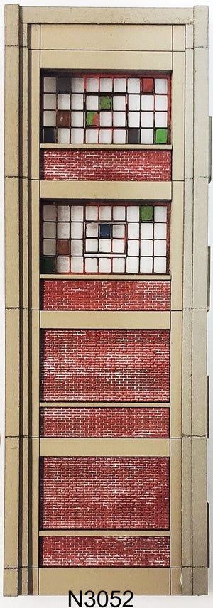 N Scale Industrial Wall Modules - ITLA