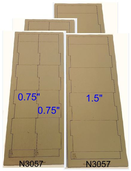 CLICK HERE for all N Scale Industrial Wall Modules - sold in PAIRS - ITLA