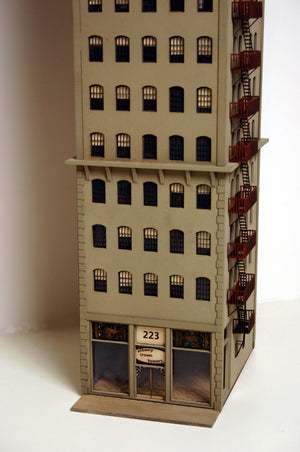 HO Scale Albany Crown Towers - ITLA