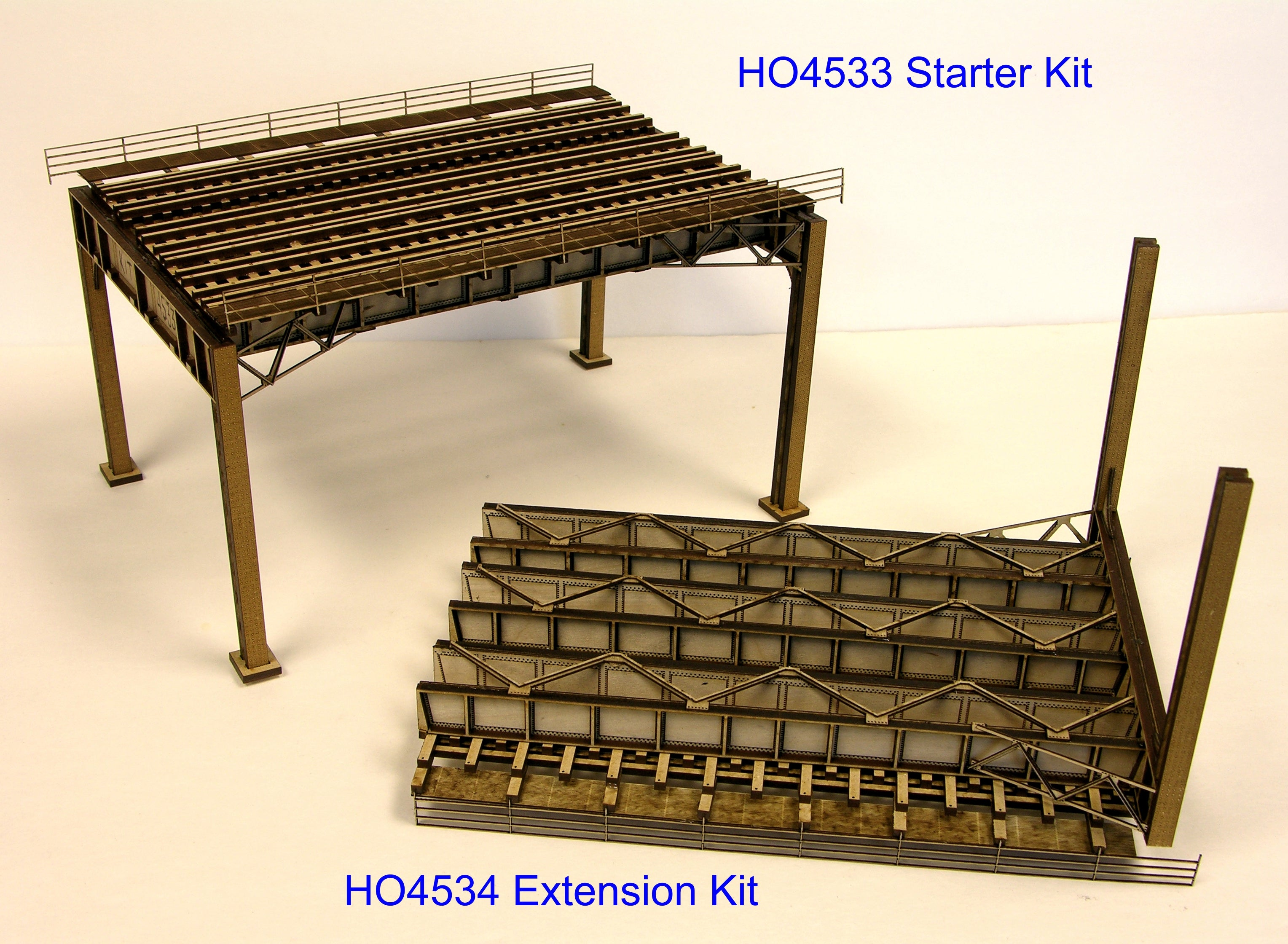 HO - New York style - 3 Track Deluxe Extension Kit - ITLA