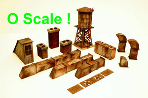 O Scale Roof Top Detail Kit - ITLA