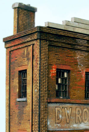 HO Scale D.V. Ross Building - ITLA