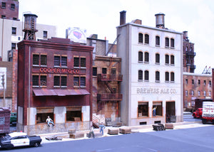 "HO Cooper's Alley - ""3 Building Set"" - ITLA"