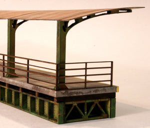 "HO ""Cantilevered Roof"" Station Platform - ITLA"