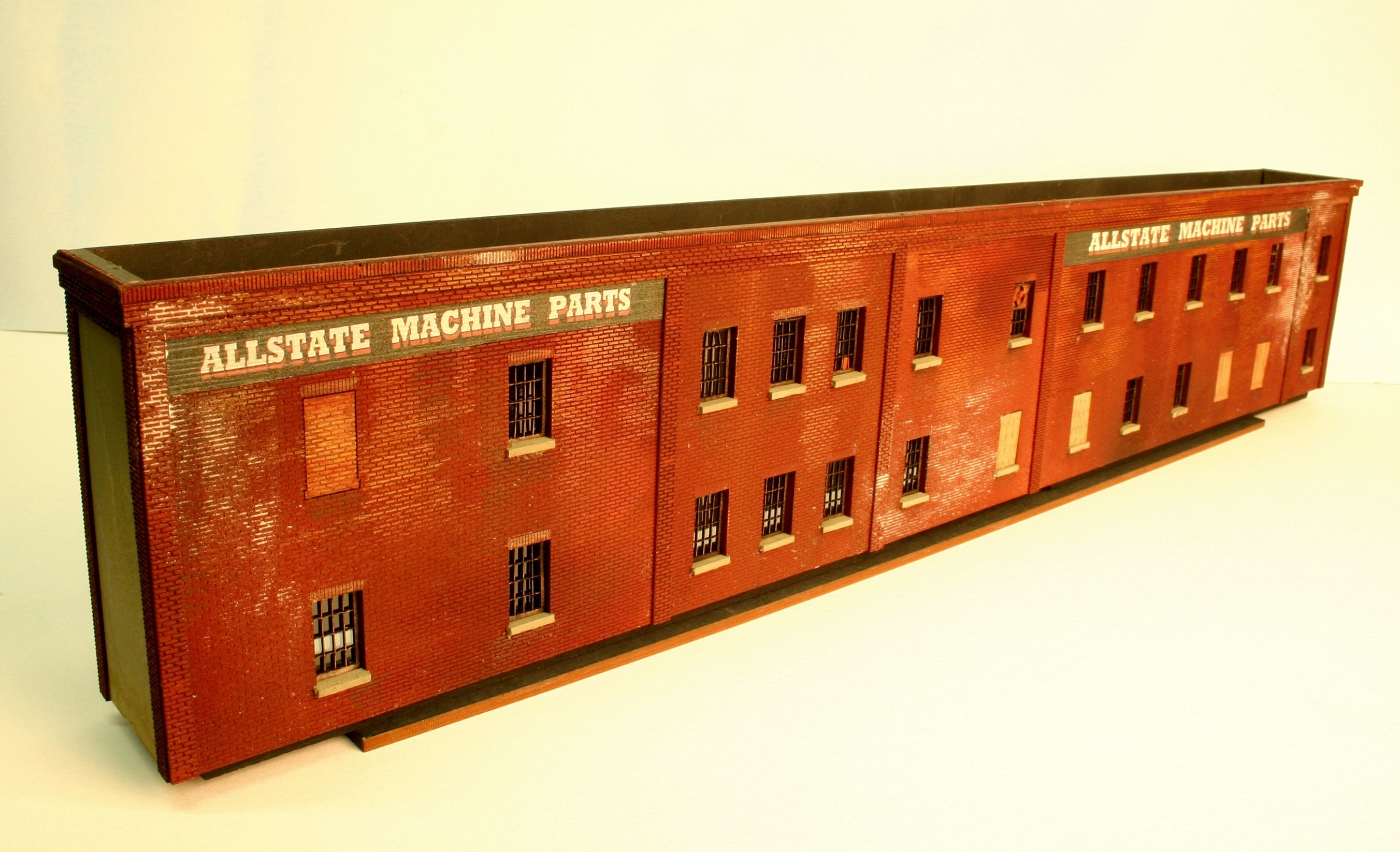 HO Scale Allstate Factory WITH 4th & 5th Floor Extension included - ITLA