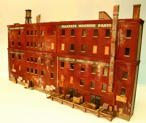 HO Scale Allstate Machine Parts WITH 4th & 5th Floor Extension included - ITLA