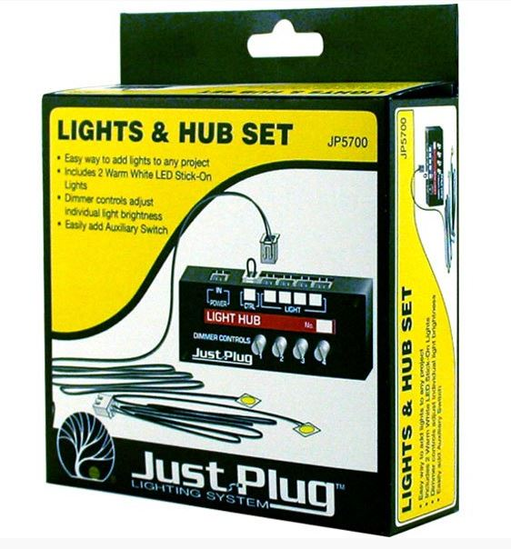 Woodland Scenics Lights & Hub Set JP5700 - ITLA