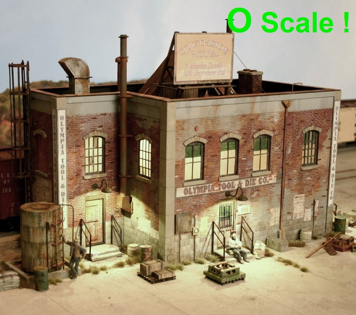 O scale Olympia Tool & Die Co. - ITLA