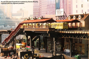 "N scale ""Chicago style"" - 2 Track ""Starter"" Kit - ITLA"