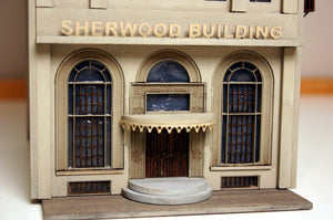 HO Scale Sherwood Building - ITLA
