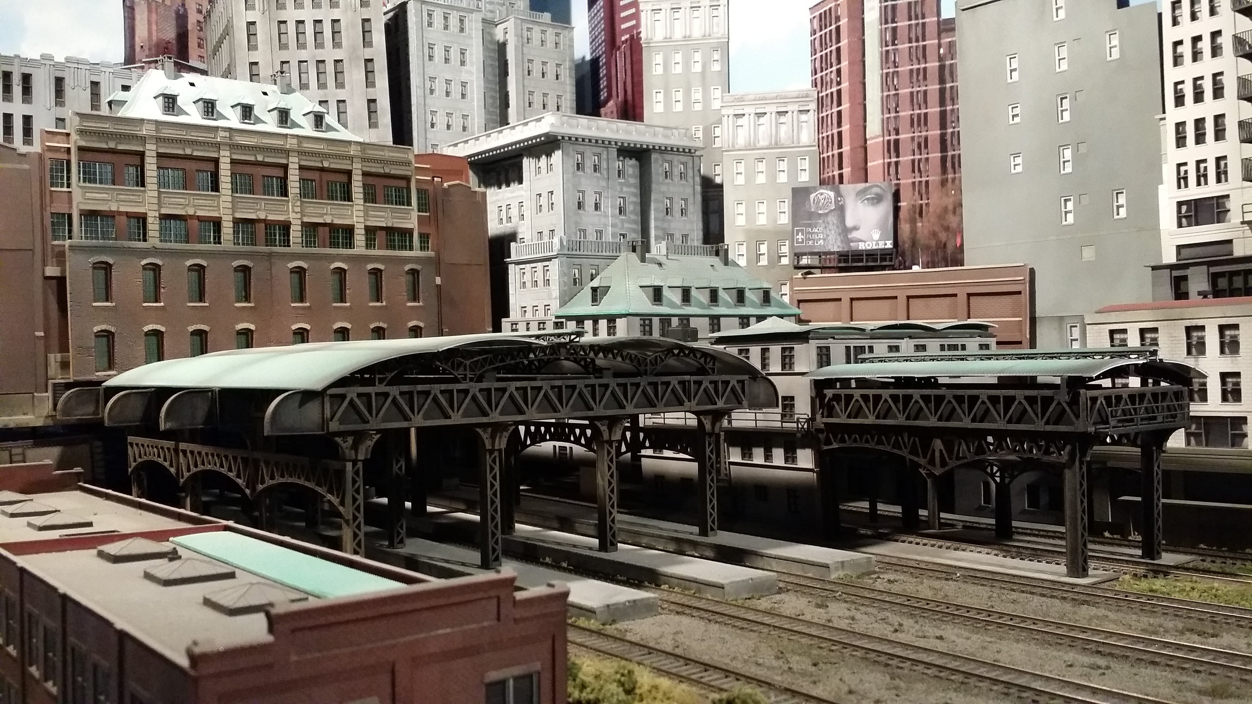 Chris P's Central Station Train Shed
